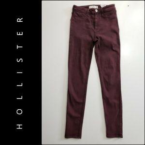 Hollister Women Skinny Jeggings Jeans Size 26
